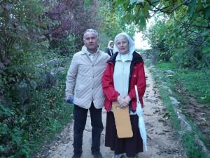Marco Ripamonti e suor Emmanuel