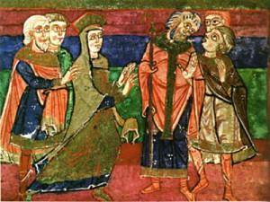 Radegonda chiede di ritirarsi in convento