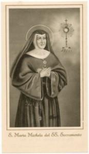 S. Maria Michelina del SS. Sacramento e la B. Maria Incarnazione del Sacro Cuore