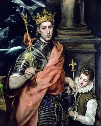 San Luigi IX, re di Francia