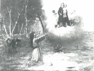 madonna della bozzola apparizione