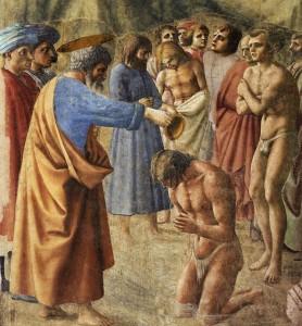Battesimo dei primi cristiani
