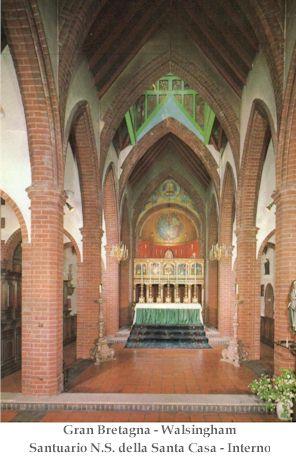 Madonna di Walsingham - santa casa.1