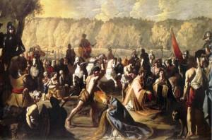 San Gennaro nella Solfatara  – Londra collezione privata