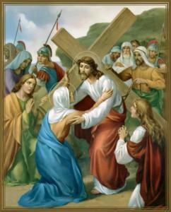 croce - incontra sua madre