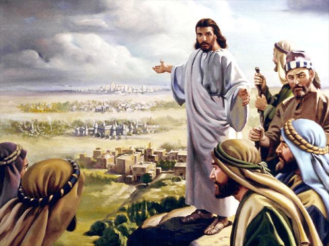 insegna agli apostoli