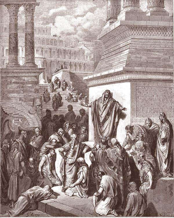 giona predica a ninive