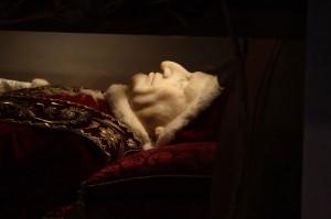 papa giovanni XIII particolare del volto