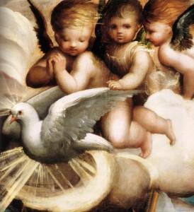 spirito santo e angeli