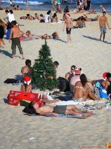Australia Sydney Bondi Beach Natale