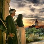 Maria e Giuseppe verso Betlemme