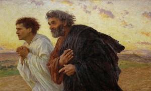 Pietro-e-Giovanni corrono al sepolcro