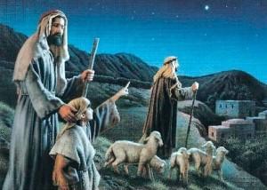 pastori vanno a Betlemme