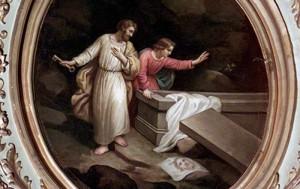 pietro e Giovanni al sepolcro