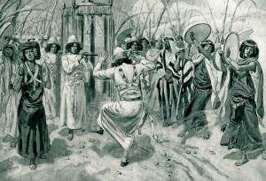 Davide danza dinanzi al Signore