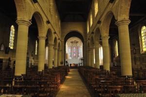 Anthony Caro, Chapel of Light, Eglise Saint-Jean de Baptiste, Bourbourg, France,