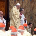 Papa Francesco rito delle ceneri