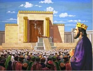 salomone al tempio