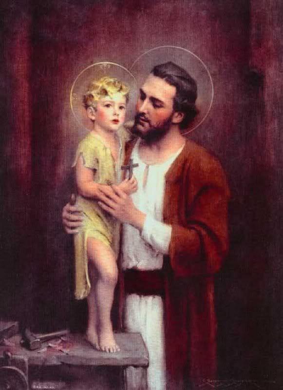 san Giuseppe e Gesù