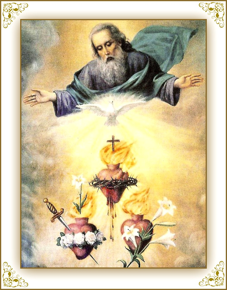 19 Tre Sacri Cuori di Gesù Maria e Giuseppe