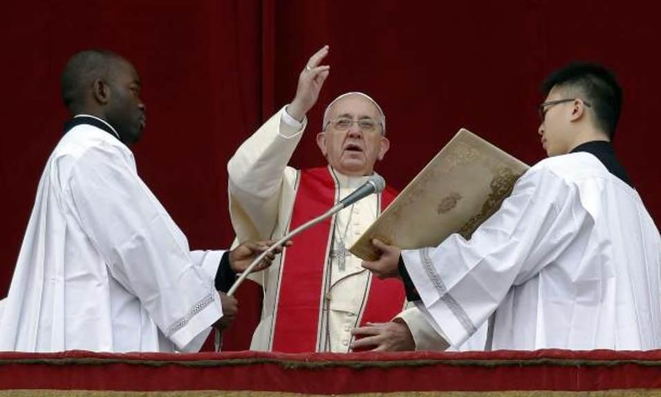Papa-Francesco-la-benedizione-Urbi-et-orbi