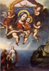 Quadro Madonna del Buon Consiglio