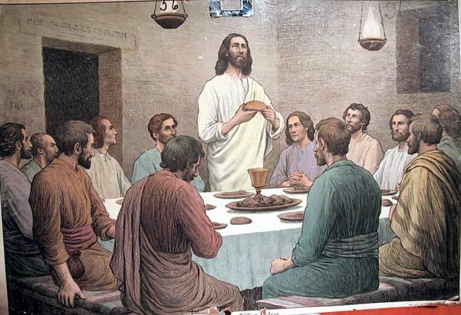 Dov'è la stanza in cui  posso mangiare la Pasqua con i miei discepoli?