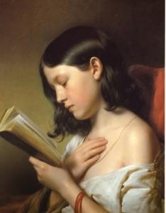 Fanciulla che legge