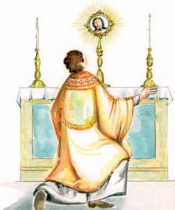 miracolo eucaristico nell'isola de La Réunion