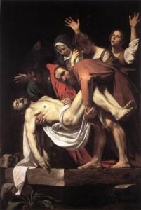 sepolcro deposizione di Cristo