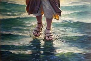 acqua camminare