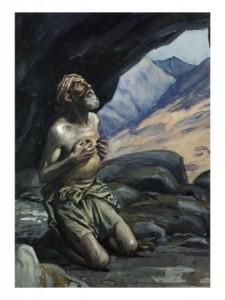 elia nella caverna