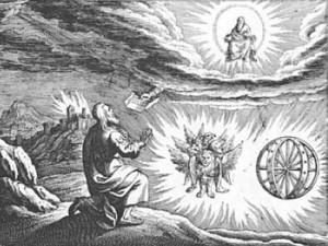 ezechiele profeta visione nube