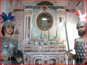 Altare maggiore chiesa madonan della luce