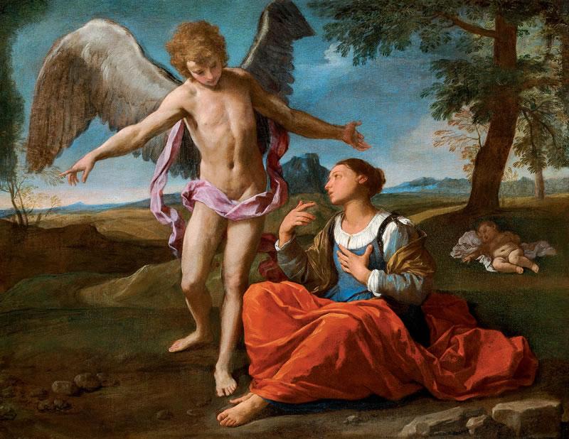 agar e l'angelo