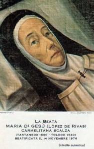 beata teresa maria di Gesù1