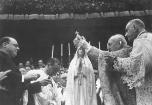 Incoronazio Madonna di Fatima