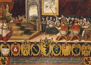 Papa Gregorio XIII riforma il calendario