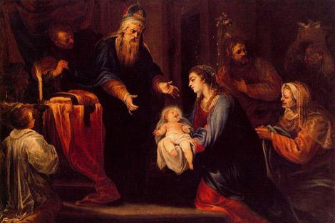 presentazione di Gesù al tempio.2