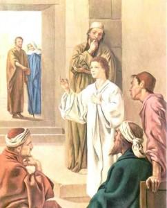 ritrovamento di Gesù nel tempio
