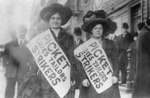 sciopero delle camiciaie a New York