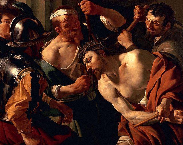incoronazione di spine di Caravaggio
