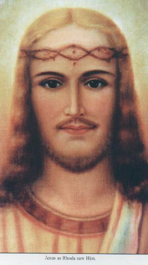 Il volto di Gesù visto da Rhoda Wise