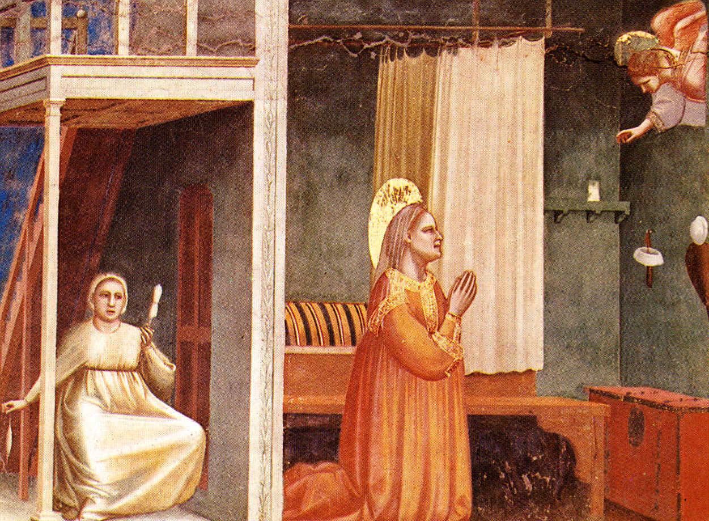 annunciazione a sant'anna di giotto