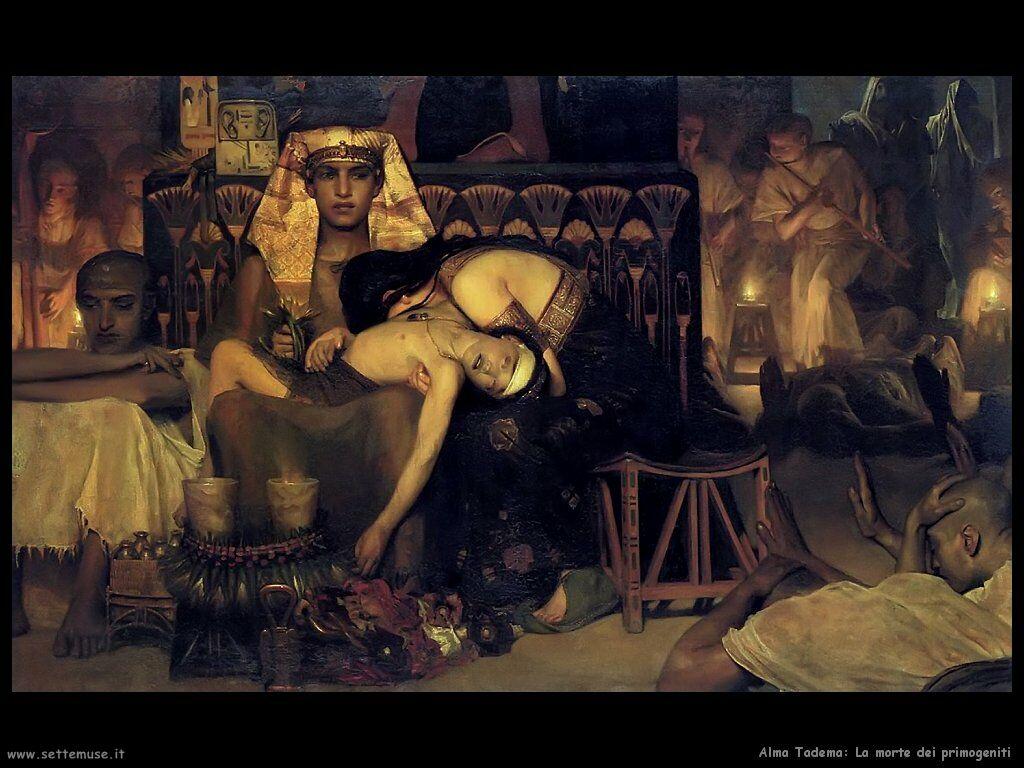morte primogenito faraone