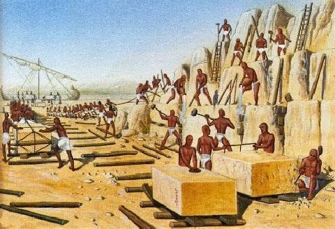 piramide - schiavitù ebrei in egitto