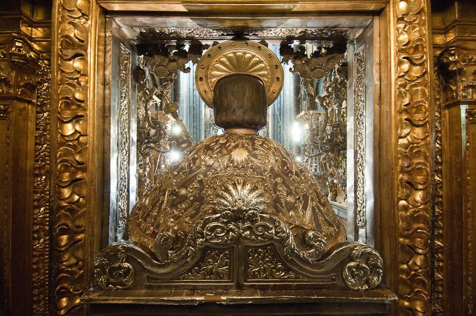 schiena di san Giacomo