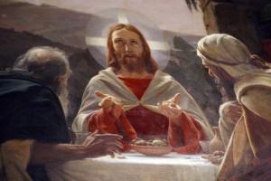 Emmaus gesù spezza il pane
