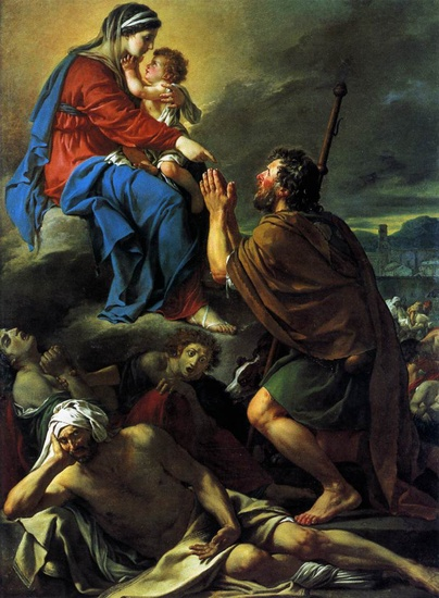 Jacques-Louis David - San Rocco chiede la grazia contro la peste