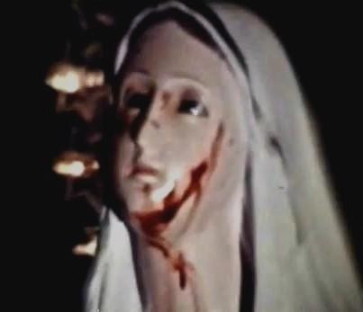 Madonna di Teresa musco versa lacrime di sangue